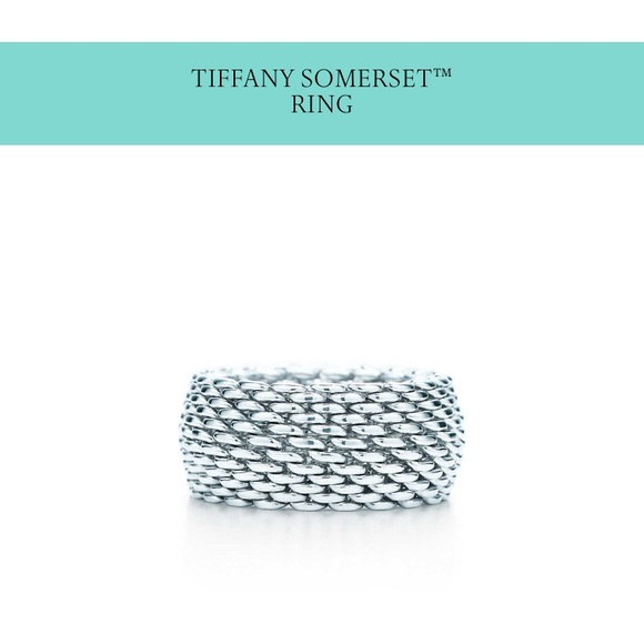 5308e6247 76% off Tiffany & Co. Jewelry - Tiffany & Co. Somerset Ring Size 6 ...